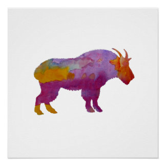 Wild Goat Perfect Poster