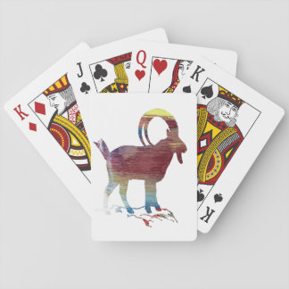 Wild Goat Playing Cards