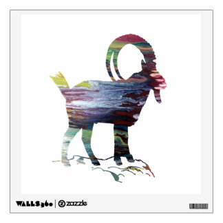 Wild Goat Wall Decal