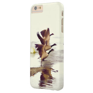 """Wild Goose Chase""   -  Running Geese Barely There iPhone 6 Plus Case"