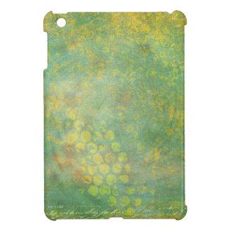 Wild Green Spots Grungy Cool iPad Mini Case