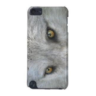Wild Grey Wolf Eyes Wildlife-lover Ipod Case