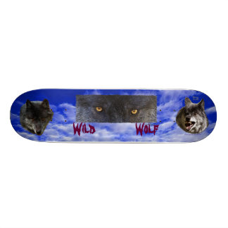 WILD GREY WOLVES Skateboard