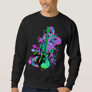 Wild Guitar (black) Sweatshirt