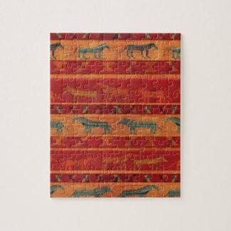 Wild Gypsy Mustangs Jigsaw Puzzle