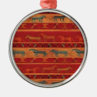 Wild Gypsy Mustangs Metal Ornament