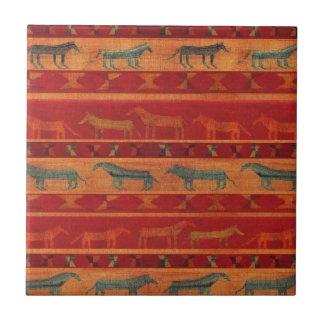 Wild Gypsy Mustangs Tile