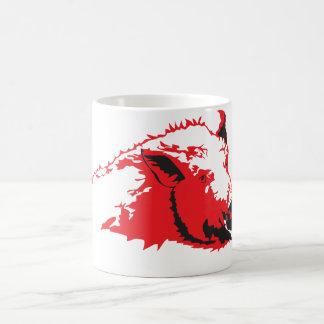 Wild hog coffee mug