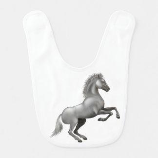 Wild horse bib