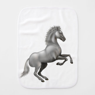 Wild horse burp cloth