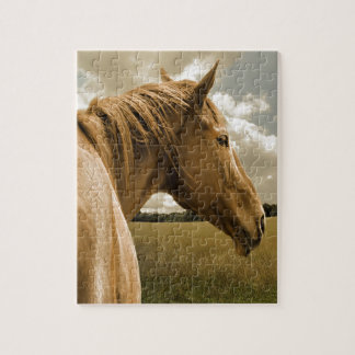 wild horse jigsaw puzzle