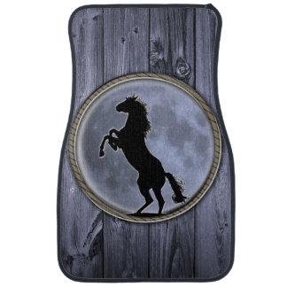 Wild Horse Moon Car Mat