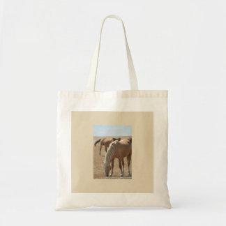 WILD HORSE OF ONAQUI MOUNTAINS OF UTAH TOTE