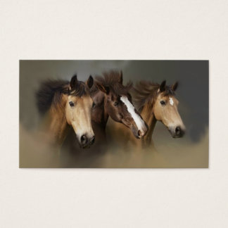 Wild Horse Trio Business Card