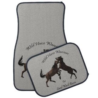 Wild Horse Warriors Car Mat