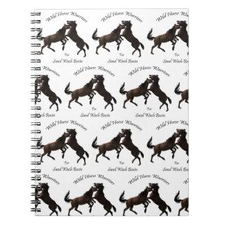 Wild Horse Warriors for Sand Wash Basin Notebooks