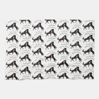 Wild Horse Warriors Kitchen Towel