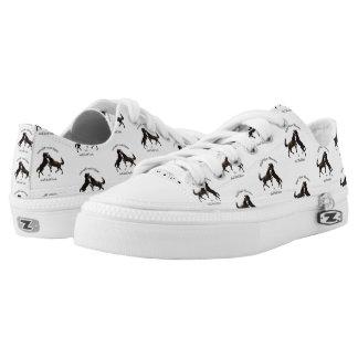 Wild Horse Warriors Low-Top Sneakers