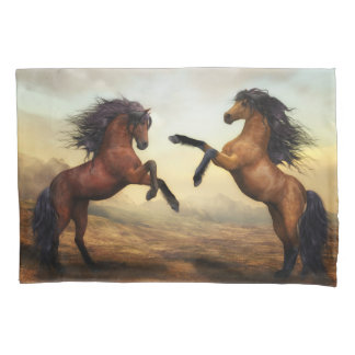 Wild Horses (2 sides) Pillowcase