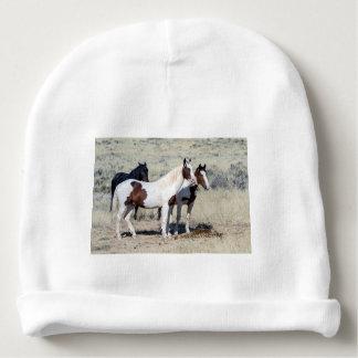 WILD HORSES BABY BEANIE