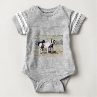 WILD HORSES BABY BODYSUIT