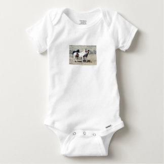 WILD HORSES BABY ONESIE