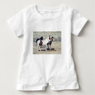 WILD HORSES BABY ROMPER