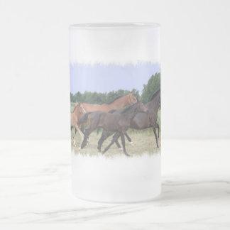 Wild Horses Beer Mug