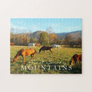 Wild Horses - Cades Cove - toy puzzle