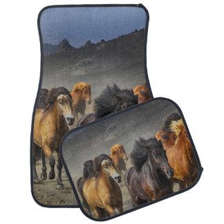Wild Horses Car Mat
