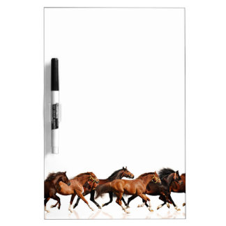 Wild Horses Dry Erase Whiteboard