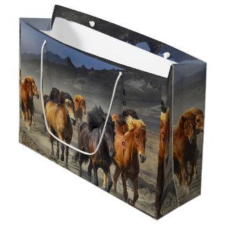Wild Horses Large Gift Bag