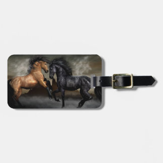 Wild Horses Luggage Tag
