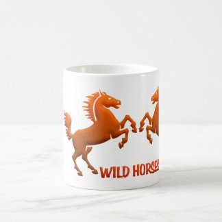 Wild Horses mug - choose style & color