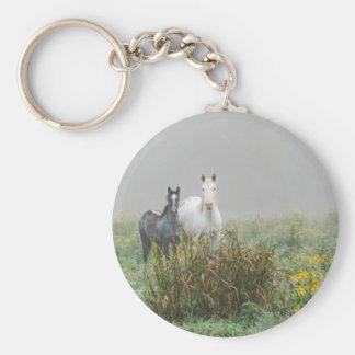 Wild Horses of Missouri Keychain