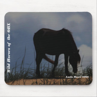 Wild horses of the OBX Mousepad
