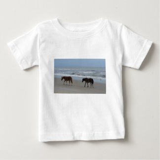 Wild Horses Outer Banks Baby T-Shirt