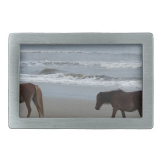 Wild Horses Outer Banks Belt Buckle