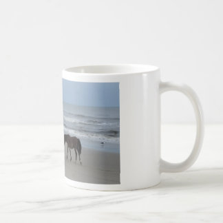 Wild Horses Outer Banks Coffee Mug