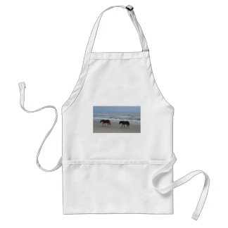 Wild Horses Outer Banks Standard Apron