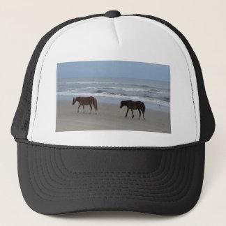Wild Horses Outer Banks Trucker Hat