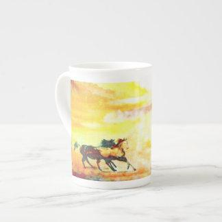 Wild Horses. Tea Cup