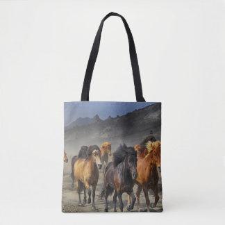 Wild Horses Tote Bag