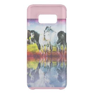 Wild Hoses Samsung S8 Case Pink Mirrored Look