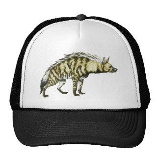 Wild Hyena Animal Illustration Trucker Hat