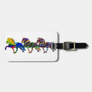 Wild Icelandics Luggage Tag