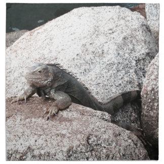 Wild Iguana Napkin
