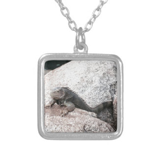 Wild Iguana Silver Plated Necklace