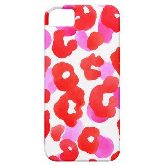 Wild jaguar ethno  Red love iPhone 5 Cases