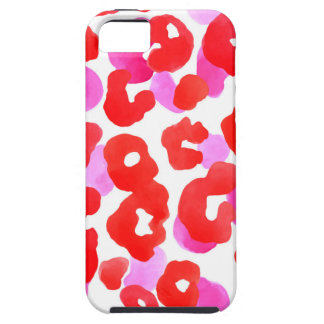 Wild jaguar ethno  Red love iPhone 5 Covers